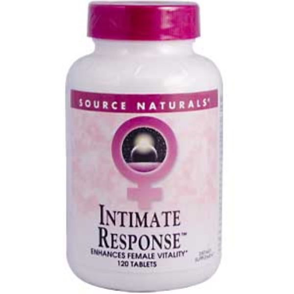 Source Naturals, Intimate Response, 120 Tablets (Discontinued Item)