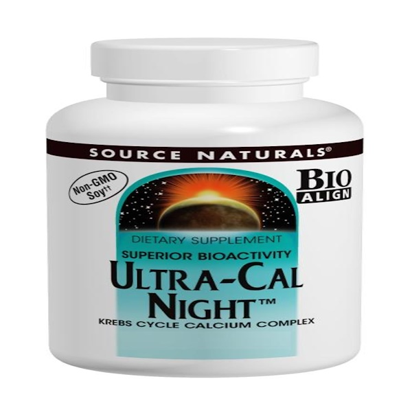 Source Naturals, Ultra-Cal Night, 120 Tablets (Discontinued Item)