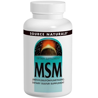 Source Naturals, MSM, (Methylsulfonylmethane), 240 Tablets