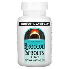 Source Naturals, 花椰菜芽提取物,250 毫克,60 片