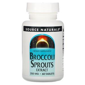 Сорс Начэралс, Broccoli Sprouts Extract, 250 mg, 60 Tablets отзывы покупателей
