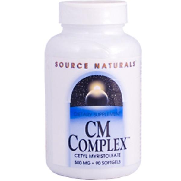 Source Naturals, CM Complex, 500 mg, 90 Softgels (Discontinued Item)