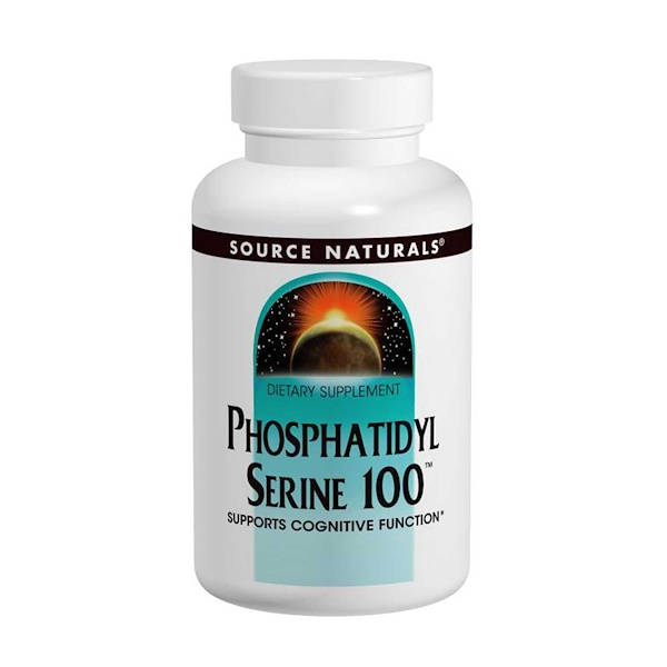 Source Naturals, Phosphatidylserine 100, 100 mg, 60 Capsules (Discontinued Item)
