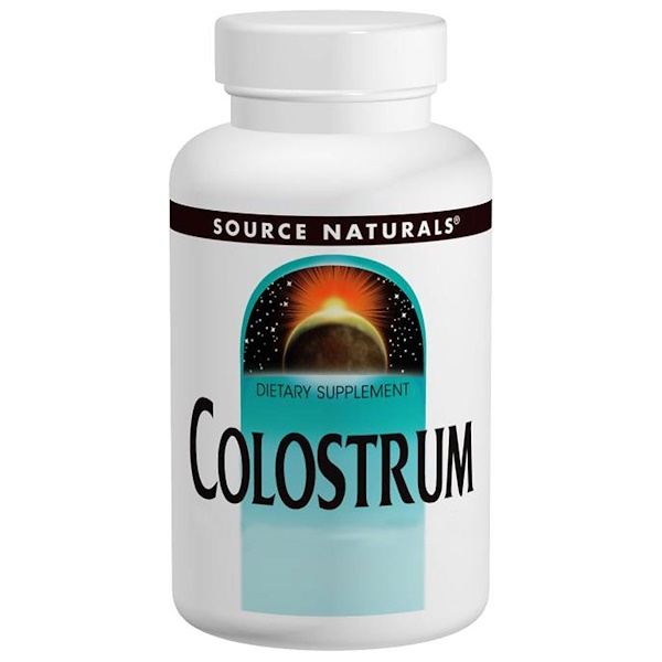 Source Naturals, Colostrum, 650 mg, 60 Tablets (Discontinued Item)