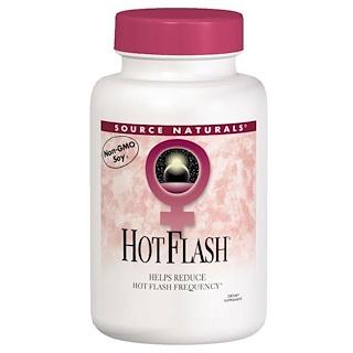 Source Naturals, Hot Flash, 180 tabletes