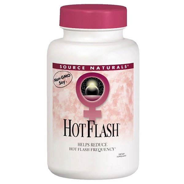 Source Naturals, Hot Flash, 180 таблеток