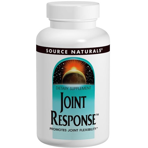 Source Naturals, Joint Response, 120 Tablets (Discontinued Item)