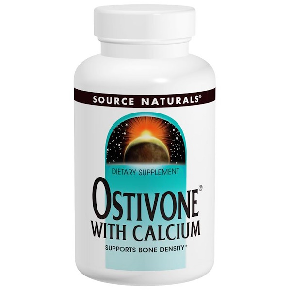 Source Naturals, Ostivone With Calcium, 60 Tablets (Discontinued Item)