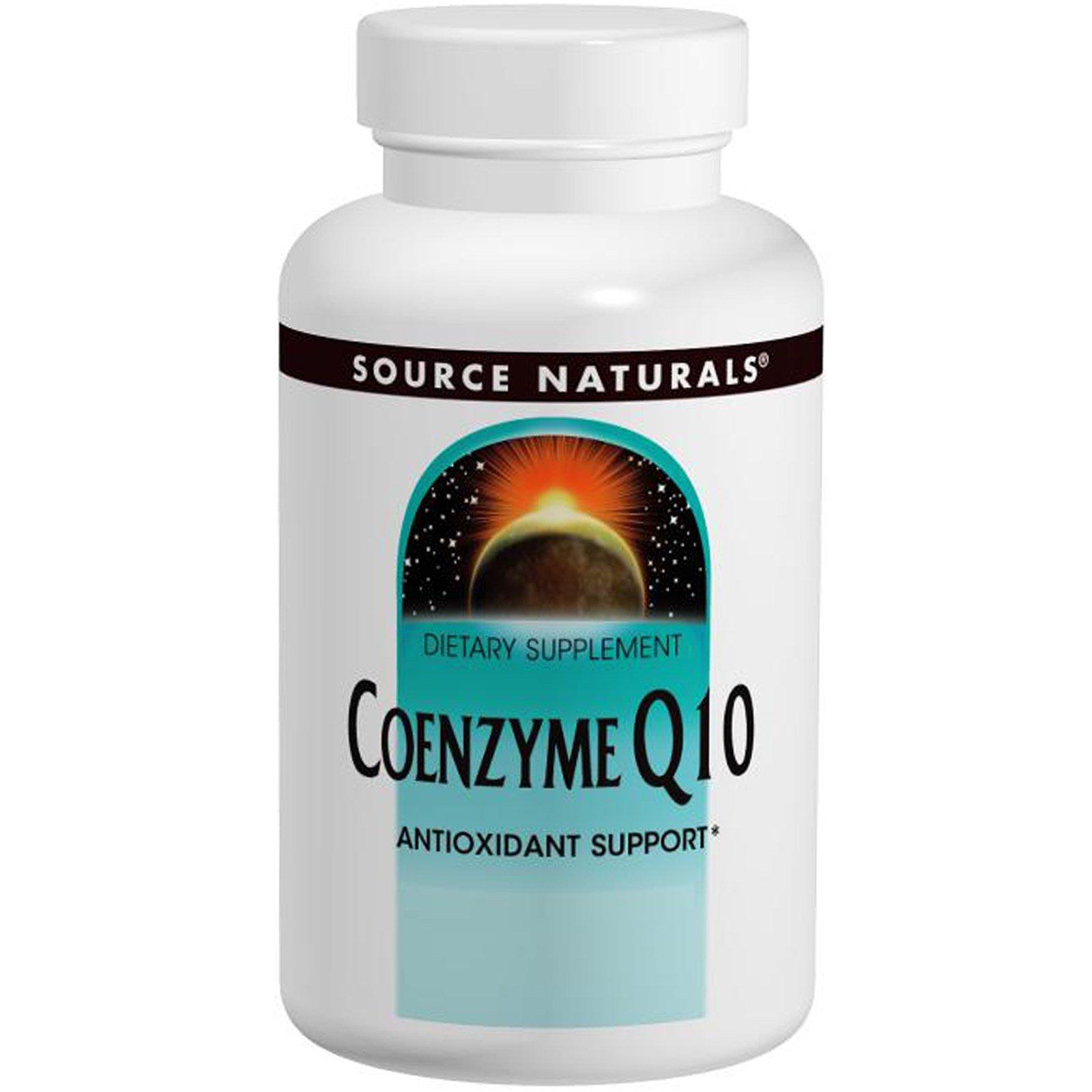 Source Naturals, Коэнзим Q10, 30 мг, 120 гелевых капсул