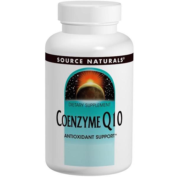 Source Naturals, Coenzyme Q10, 30 mg, 120 Softgels (Discontinued Item)