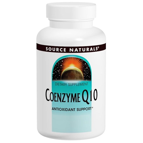 Source Naturals, Coenzyme Q10, 100 mg, 60 Softgels (Discontinued Item)