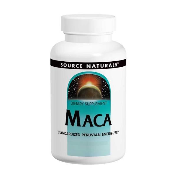 Source Naturals, ماكا، 60 حبة