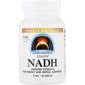 Сорс Начэралс, ENADA NADH, 5 mg, 30 Tablets отзывы