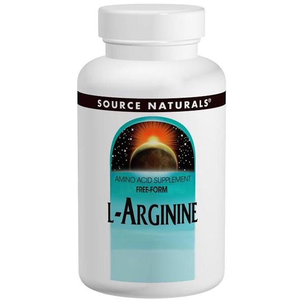 Source Naturals, L-Arginine, 500 mg, 100 Tablets (Discontinued Item)