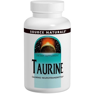 Source Naturals, Taurin, 500 mg, 120 Tabletten