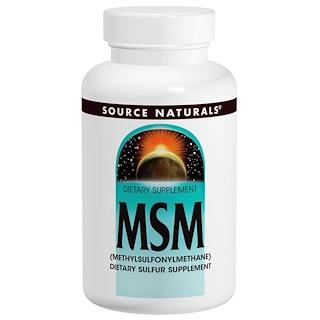 Source Naturals, MSM片,1000毫克,120片裝