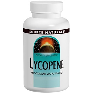 Source Naturals, Lycopene, 15 mg, 60 Softgels