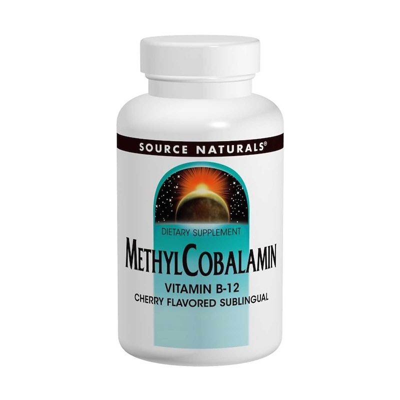 MethylCobalamin Vitamin B12, Cherry Flavored, 1 mg, 120 Lozenges