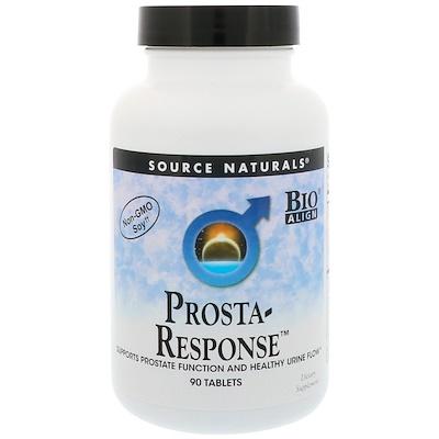 Купить Source Naturals Prosta-Response, 90 таблеток