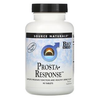Source Naturals, Prosta-Response para la Próstata, 90 Comprimidos