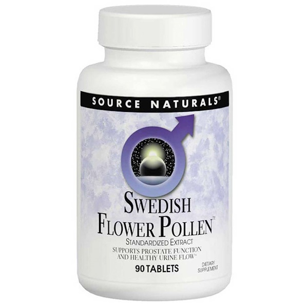 Source Naturals, Swedischer Blumen Pollen, 90 Tabletten