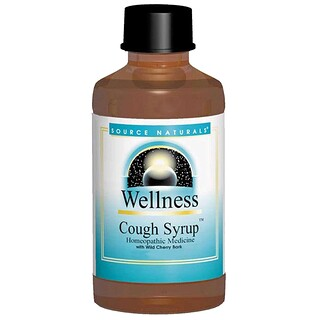 Source Naturals, Wellness, Cough Syrup, 8 fl oz (236 ml)