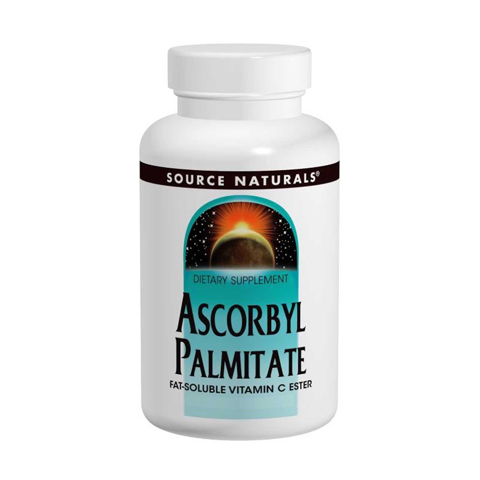 Source Naturals, Аскорбилпальмитат, 500 мг, 90 таблеток