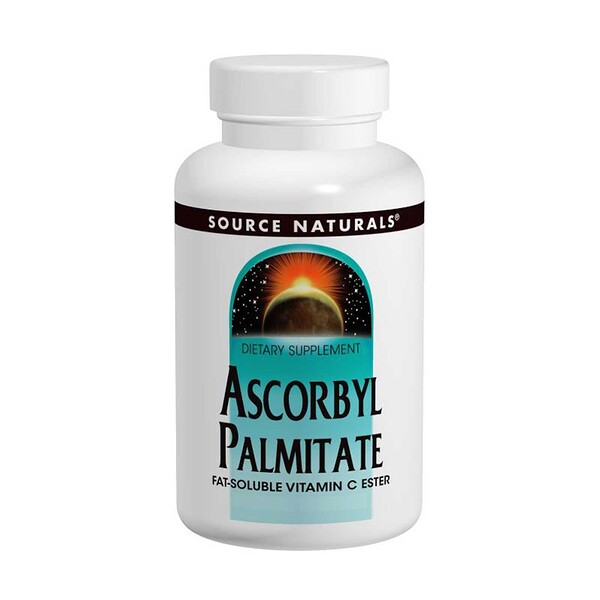 Source Naturals, Palmitato de ascorbilo, 500 mg, 90 Tabletas