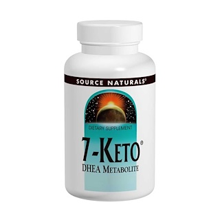 Source Naturals, 7-Keto, DHEA Metabolite, 50 mg, 60 Tablets