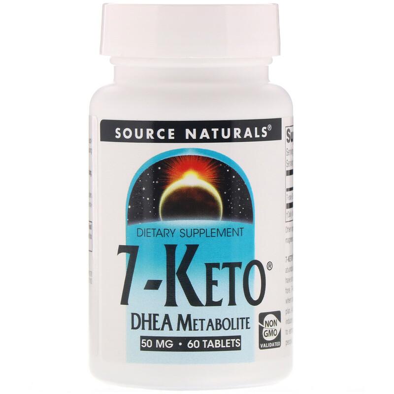 Source Naturals, 7-酮DHEA代謝物,50毫克,60片
