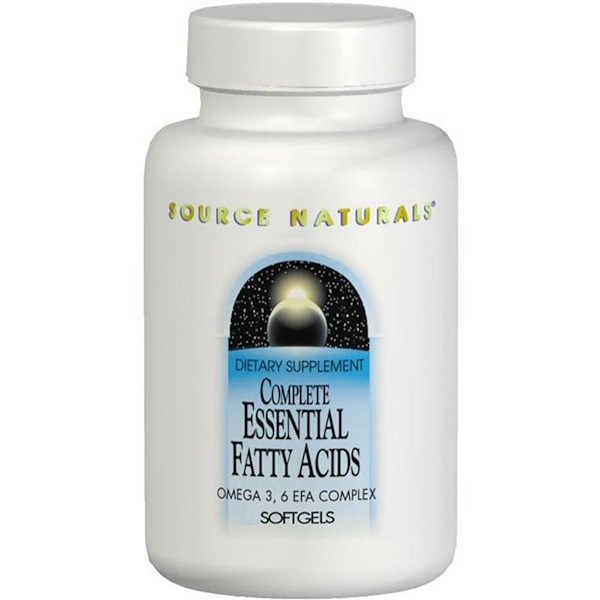 Source Naturals, Complete Essential Fatty Acids, 120 Softgels (Discontinued Item)