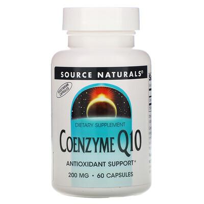 Source Naturals Кофермент Q10, 200 мг, 60 капсул