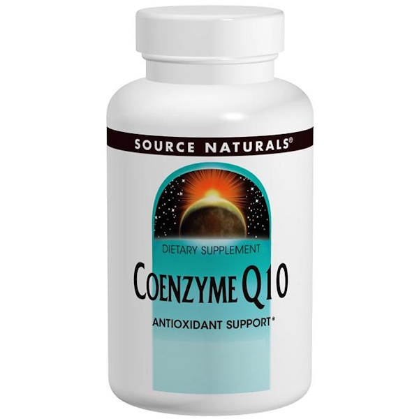 Source Naturals, Coenzyme Q10, 200 mg, 60 Capsules