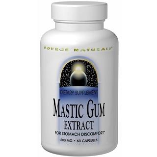 Source Naturals, Mastic Gum Extract, 60 Capsules