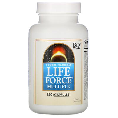 Source Naturals Мультивитамины Life Force, 120 капсул