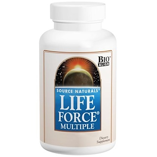 Source Naturals, Life Force Multiple, 120 Capsules