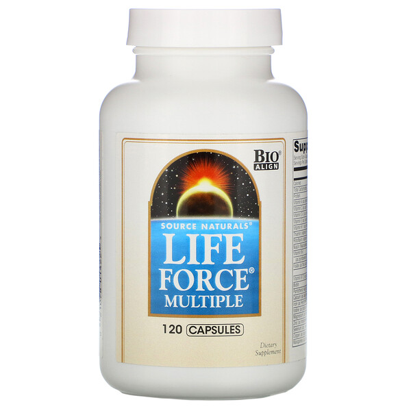 Life Force Multiple, 120 Capsules