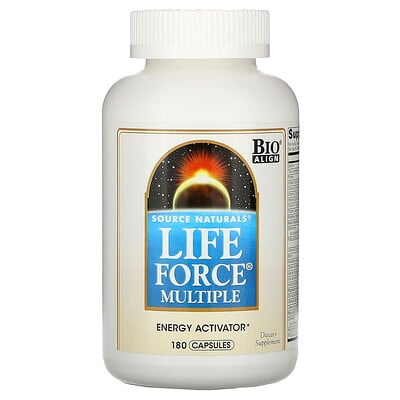 Source Naturals Life Force Multiple, 180 капсул
