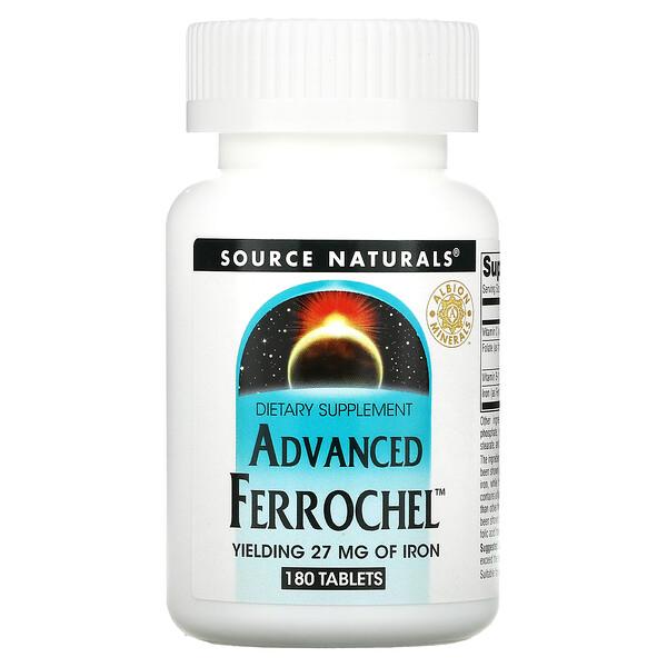 Advanced Ferrochel, 180 Tablets