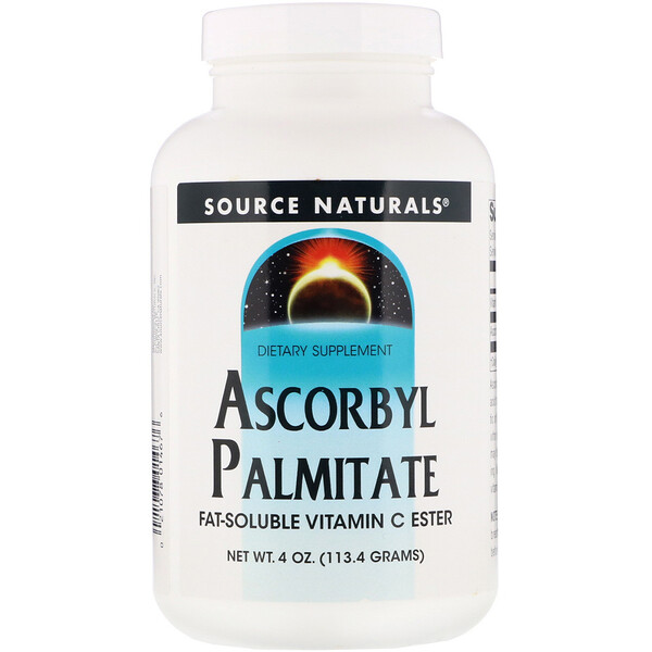 Source Naturals, Ascorbyl Palmitate, 4 oz (113.4 g) Powder