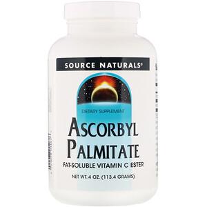 Сорс Начэралс, Ascorbyl Palmitate, 4 oz (113.4 g) Powder отзывы