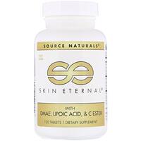 Вечность кожи с ДMAЭ, липоевой кислотой и сложноэфирный витамин C, 120 таблеток - фото
