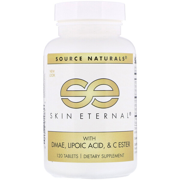 Skin Eternal with DMAE, Lipoic Acid, and C Ester, 120 Tablets