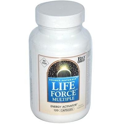 Мультивитамины Life Force, без железа, 120 капсул недорого