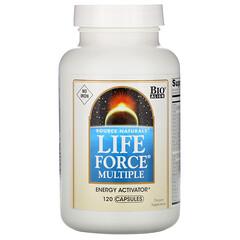 Source Naturals, 生命力綜合營養膠囊,無鐵,120粒