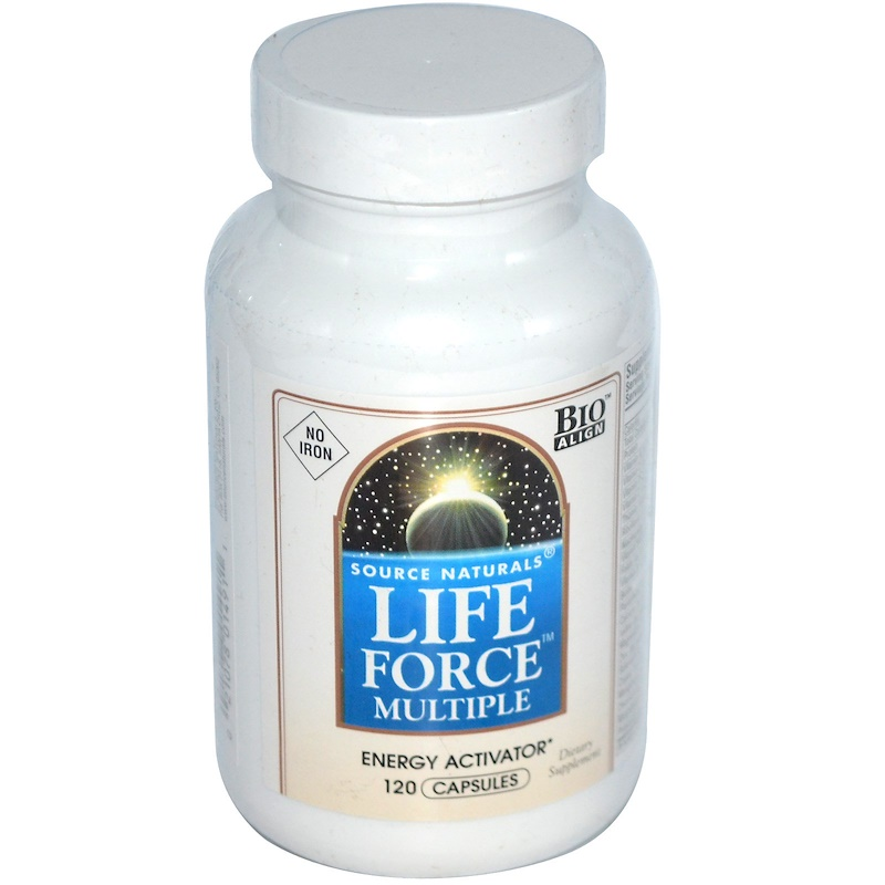 Life Force Multiple, No Iron, 120 Capsules