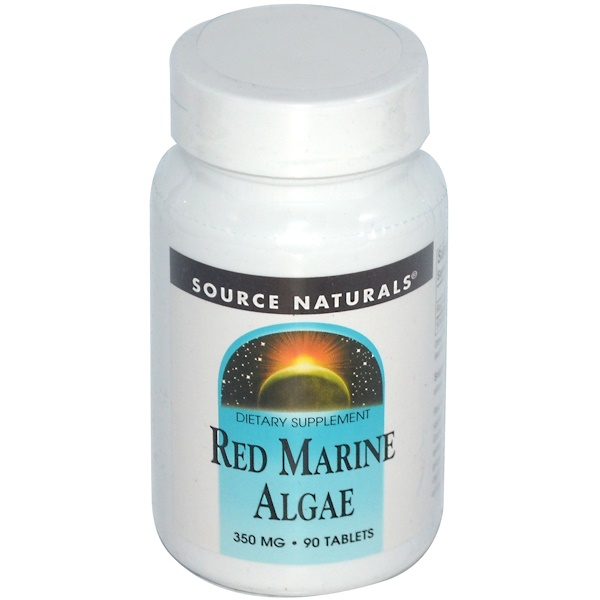 Source Naturals, Red Marine Algae, 350 mg, 90 Tablets (Discontinued Item)