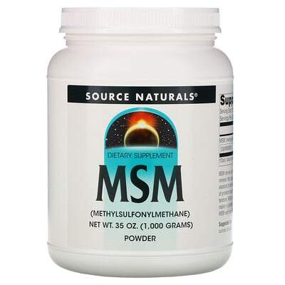 Source Naturals МСМ, порошок, 1000 г (35 унций)