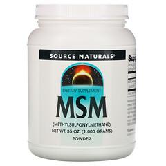 Source Naturals, MSM 粉,35 盎司(1,000 克)