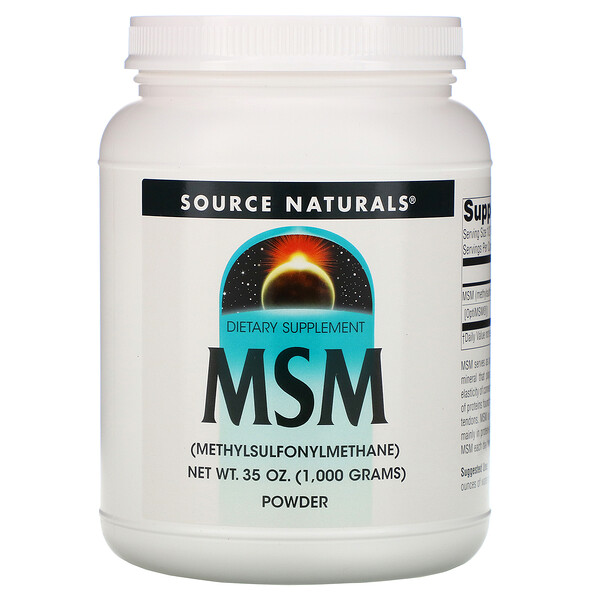 Source Naturals, MSM Powder, 35 oz (1,000 g)